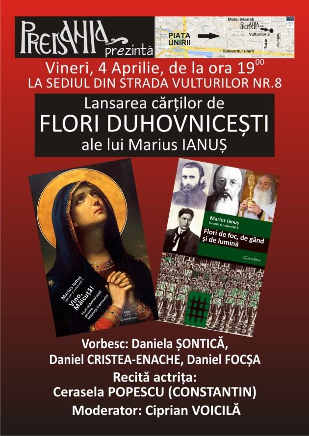 Lansare Flori Duhovnicesti